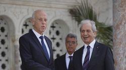 La passation entre Mohamed Ennaceur et Kais Saied