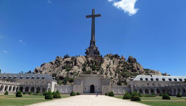 Sans Franco, que faire de la colossale Valle de los Caídos? (photo prise le 5 juillet