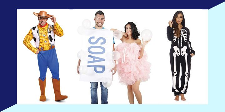 Last-minute Halloween costumes, no glue or scissors required.