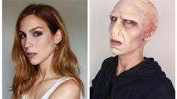 Les 9 maquillages d'Halloween les plus fous de Cynthia