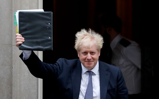 Boris Johnson Dodges Scrutiny From Senior MPs With A Scrawled