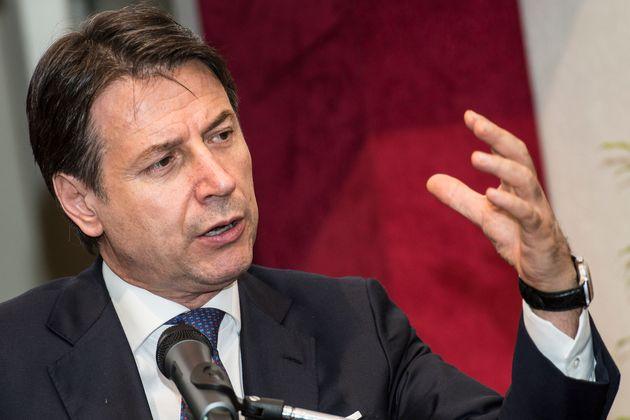 Giuseppe Conte, avvocato in