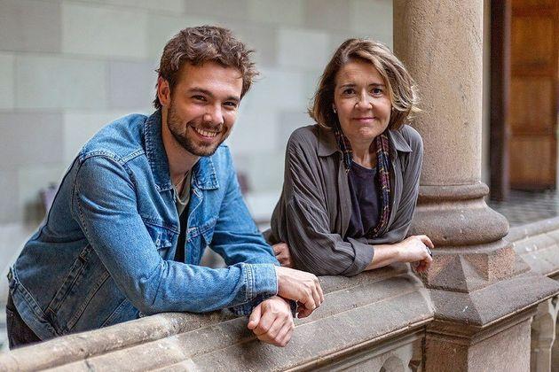 Carlos Cuevas e María Pujalte, interpretam os protagonistas de
