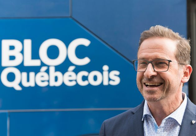 Yves-Francois Blanchet, chef du Bloc