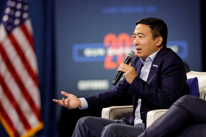 Businessman Andrew Yang is getting the support of a super PAC in his presidential campaign.