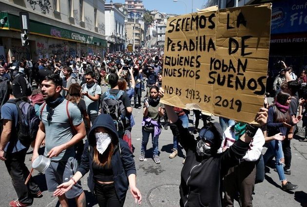 Protestas en