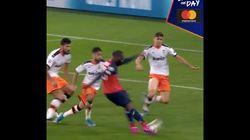 Lille quasiment éliminé de la Ligue des champions, malgré cette superbe frappe