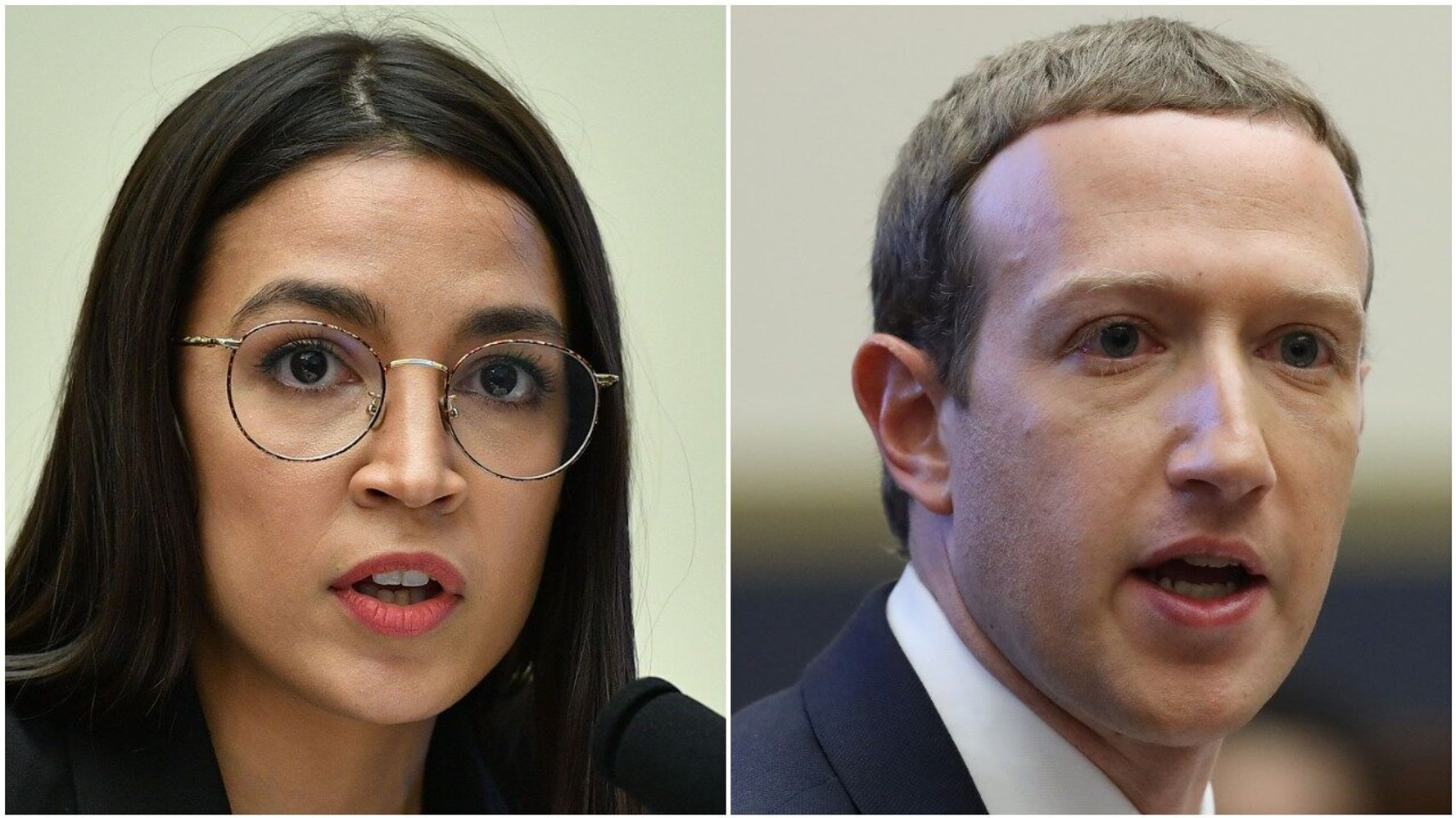 Westlake Legal Group 5db0e6fc200000bf22506995 Twitter Users Break Out The Popcorn As Ocasio-Cortez Smokes Zuckerberg