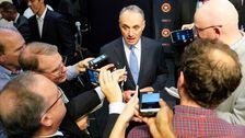 MLB Kommissar Sagt, Sind die Ermittler Bei der Arbeit In der Taubman-Sonde