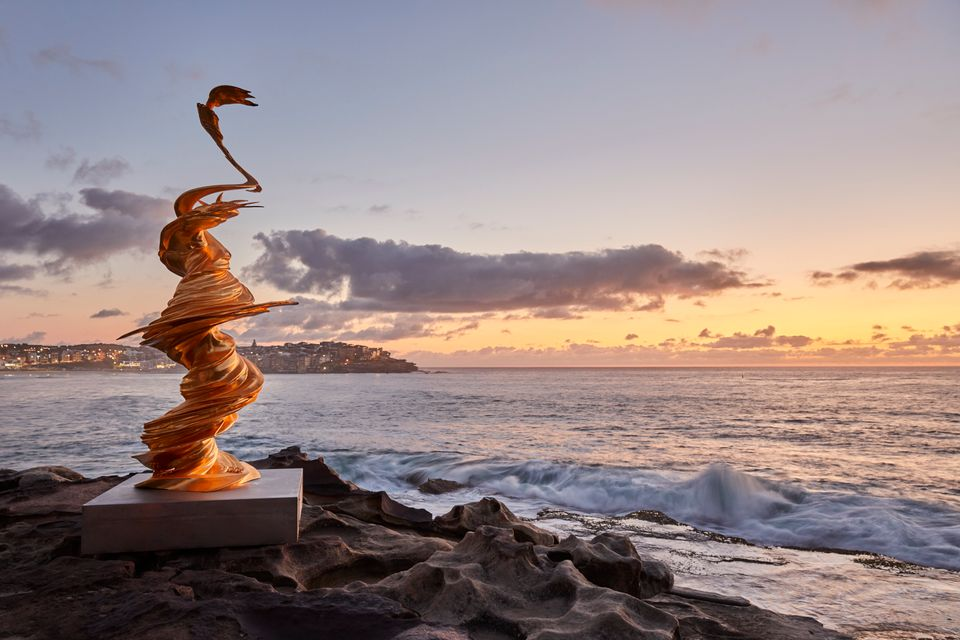 Sculpture by the Sea returns to Sydney's Bondi Beach.