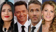 Prominente Haufen Auf Ryan Reynolds Geburtstag Mit Troll-Fest