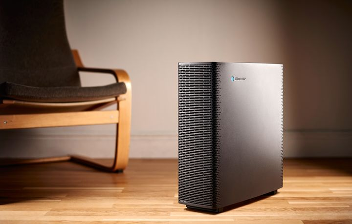 A BlueAir Sense Plus smart air purifier, taken on October 11, 2017. (Photo by Neil Godwin/T3 Magazine/Future via Getty Images)