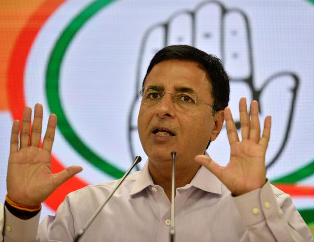File image of Congress chief spokesperson Randeep Singh