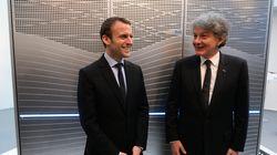 Après le rejet de Goulard, Macron propose Thierry Breton pour la Commission