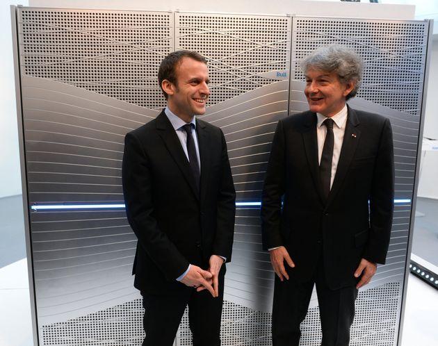 Emmanuel Macron et Thierry