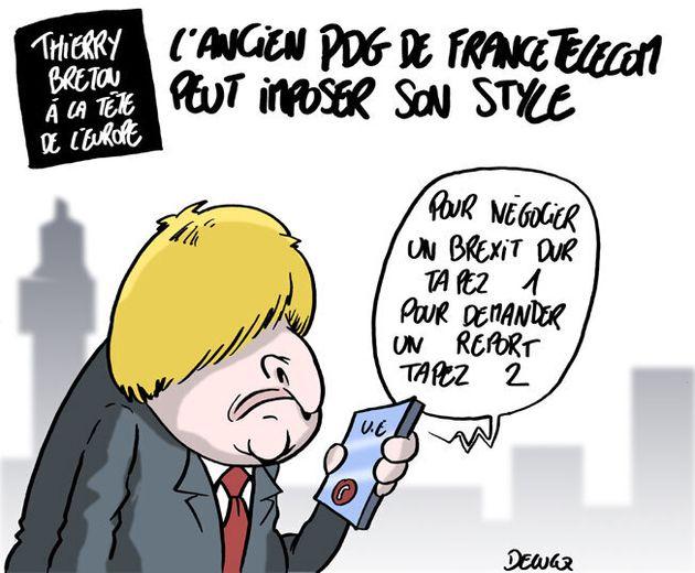 Thierry Breton est proposé par l'Élysée à la Commission