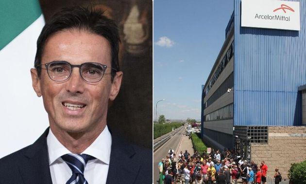 Il sottosegretario Mario Turco - lo stabilimento ex