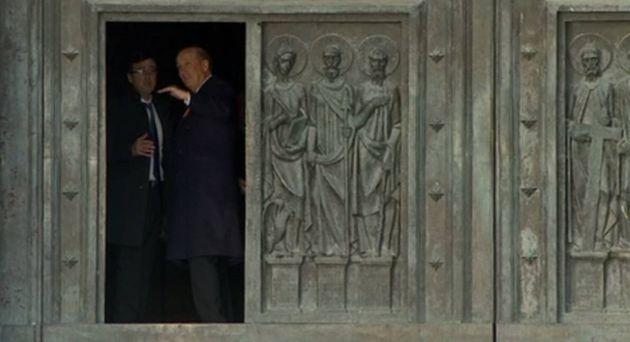 'Francis' Franco, a la entrada de la