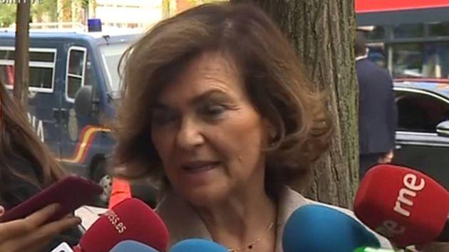 La vicepresidenta, Carmen