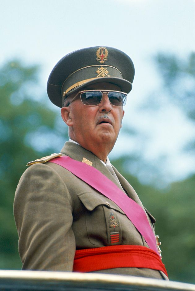 El dictador Francisco Franco, en