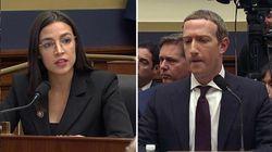 Ocasio-Cortez incalza, Zuckerberg balbetta.