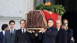 Franco, exhumado del Valle de los Caídos 44 años