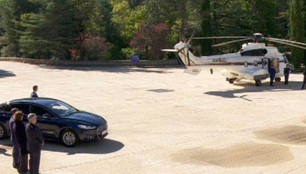 El helicóptero se esperará unos minutos antes de