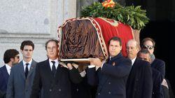 Quiénes son los familiares de Franco que podían asistir a su