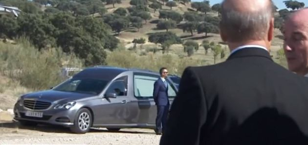 Todo listo para que los restos de Franco cubran el último tramo hasta el cementerio de