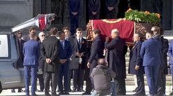 ¿Demasiado boato? ¿Casi un funeral de Estado?: las críticas en redes a la exhumación de