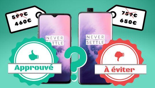 Les OnePlus 7T et OnePlus 7T Pro en promo, on valide ou