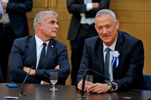 Yair Lapid (a sinistra) e Benny