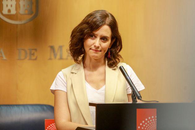 Díez Ayuso, presidenta de la Comunidad de
