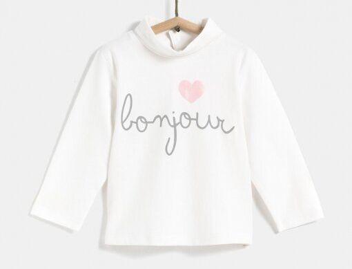 Camiseta de Carrefour Tex Bonjour.