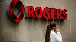Rogers: des revenus à la baisse à cause des forfaits de données
