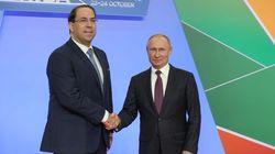Depuis Sotchi, Youssef Chahed plaide en faveur de partenariats stratégiques entre l'Afrique et la