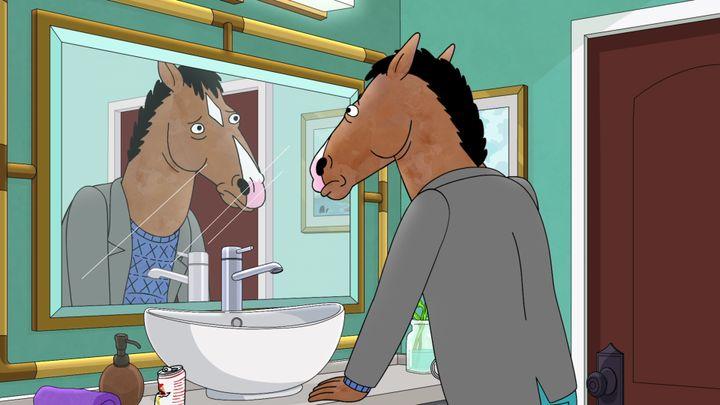 """A still from Season 6 of """"BoJack Horseman."""""""