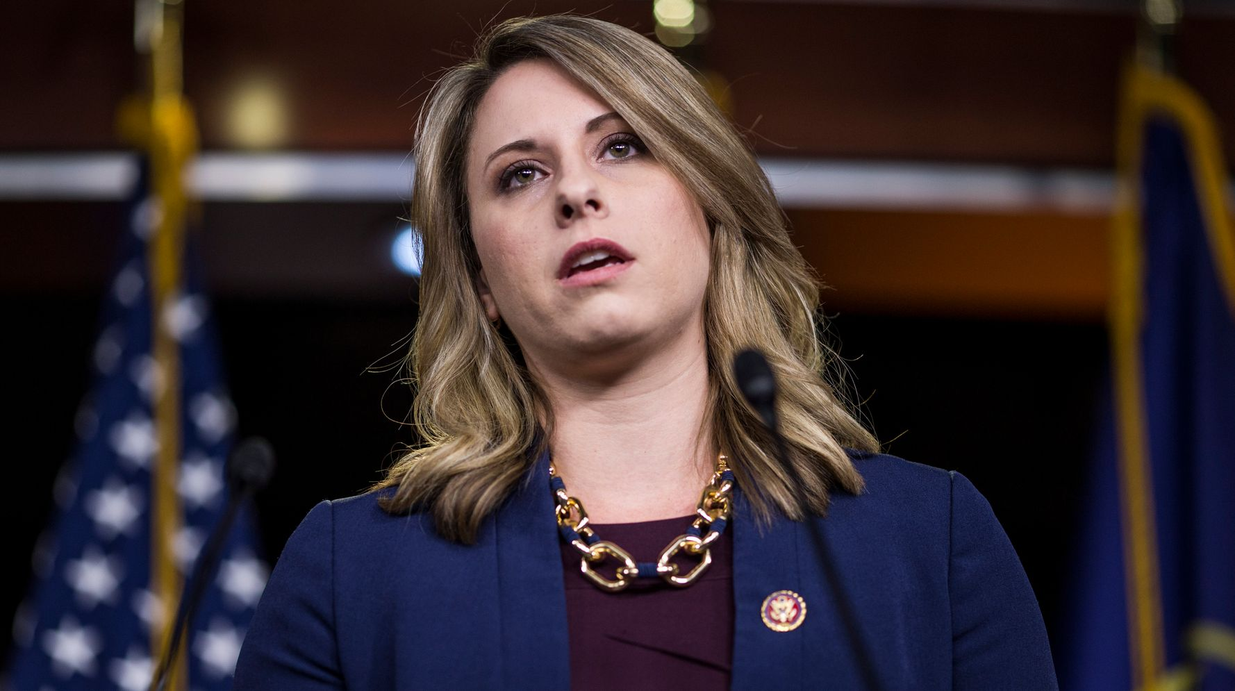Westlake Legal Group 5db1f2592100005f2534afa7 Rep. Katie Hill Resigns Amid Ethics Probe Into Alleged Relationship With Staffer