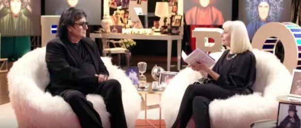 Renato Zero e Raffaella Carrà nella prima puntata di