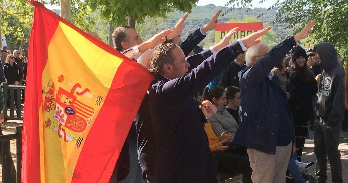Dos franquistas, atendidos por hipotermia al subirse a un risco del Valle de los Caídos