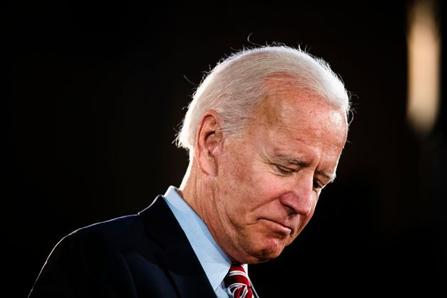 Democratic presidential candidate former Vice President Joe Biden speaks during a campaign event on Oct....