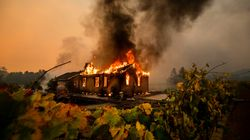 Wildfires Ravage California From Los Angeles To Wine