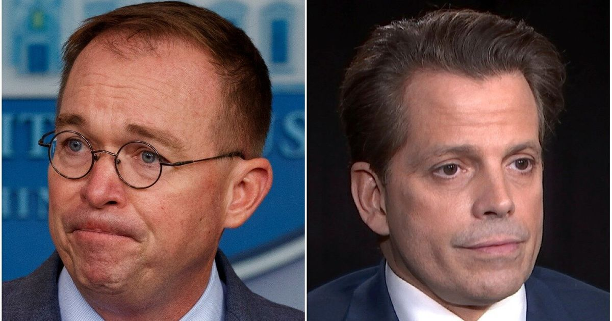 Anothony Scaramucci Gives Mick Mulvaney Some 'Guy-To-Guy' Advice