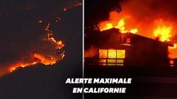 La Californie en proie aux flammes, 50.000 personnes