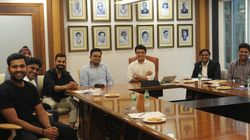Why Twitter Isn't 'All Smiles' About This BCCI Photo Of Sourav Ganguly With Virat And
