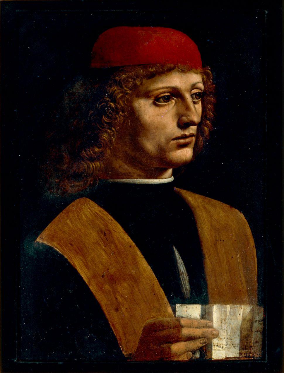Leonardo da Vinci, Ritratto di musico