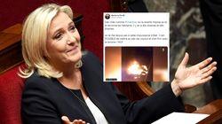 Marine Le Pen accusée par France 3 d'avoir