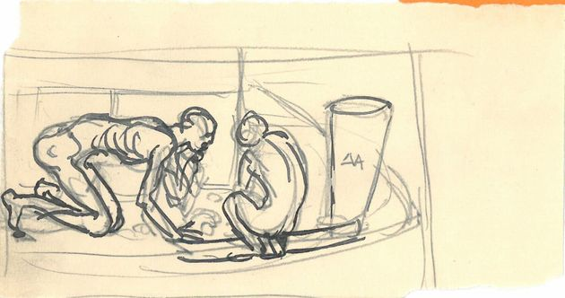 Άνθρωποι ψάχνουν τροφή στα σκουπίδια. Αθήνα