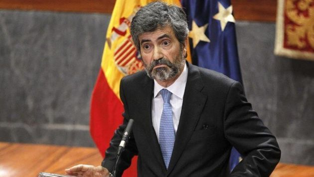 El presidente del CGPJ y del Supremo, Carlos
