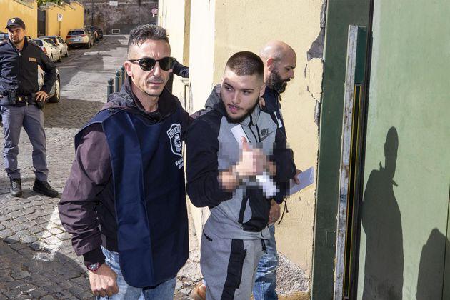 Valerio Del Grosso, uno dei due fermati per l'omicidio di Luca Sacchi, il 24enne ucciso due sere fa a...